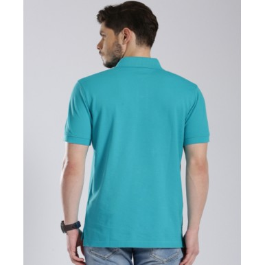 Sea Green Polo T-Shirt for Him - FREE DELIVERY
