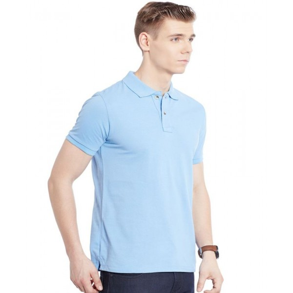 Sky Blue Polo T-Shirt For Him - FREE DELIVERY