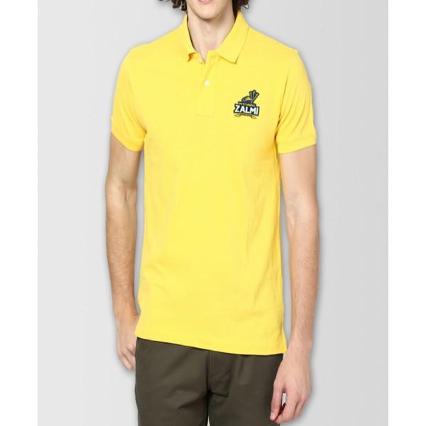 Peshawar Zalmi PSL Polo Cotton T-Shirt