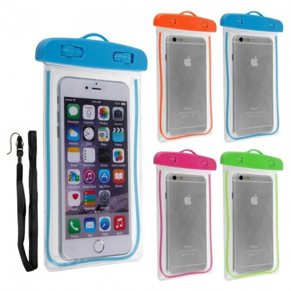Waterproof Case Underwater PVC Bag Transparent Touch Screen Premium Cell Phone Pouch Cover For Travel
