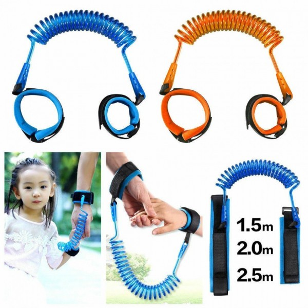 Baby Child Anti Lost Wrist Link Safety Strap Rope