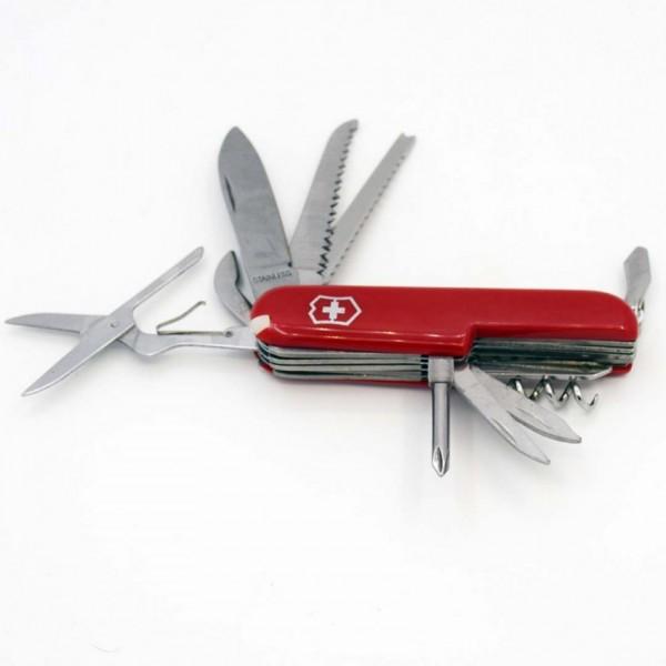 Multi Purpose Stainless Steel Camping Tool Swiss Knife