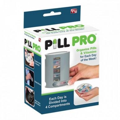 Pill Pro Medicine Weekly Storage Box