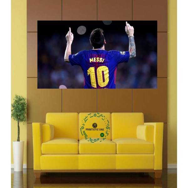 Football special Messi Wall Poster