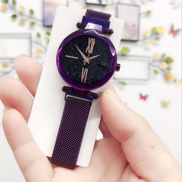 Stylish Fashion Ladies Magnetic Tied Watch SA-St