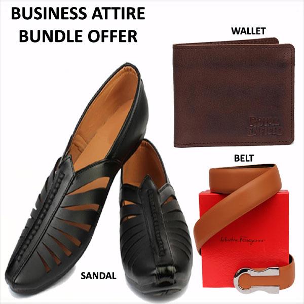 BUSINESS ATTIRE BUNDLE OFFER for Men