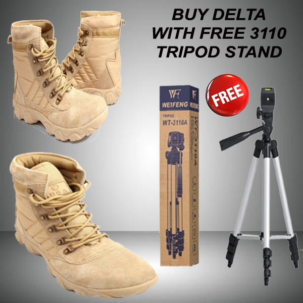 BUY DELTA SHOES WITH FREE 3110 TRIPOD