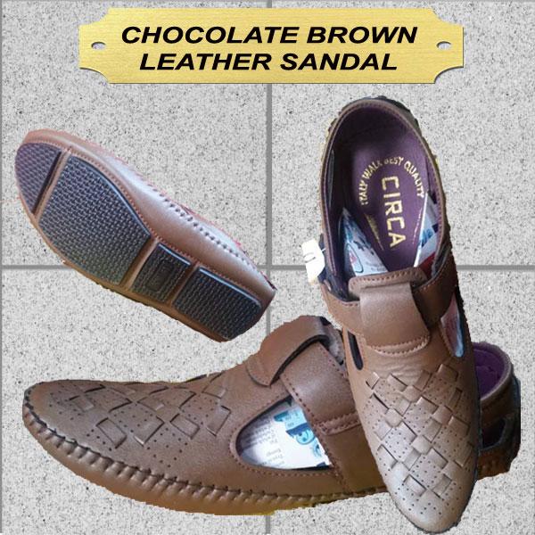 CHOCOLATE BROWN SANDAL for MEN NZ-11