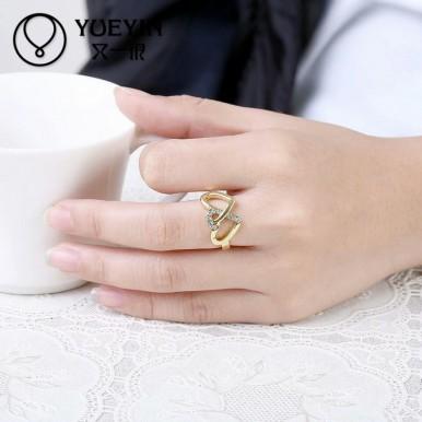 Neoglory Austria Rhinestone and Zircon Finger Ring