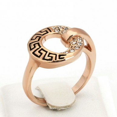 Top Quality Classical Decorative Pattern Silver Color Fashion Ring