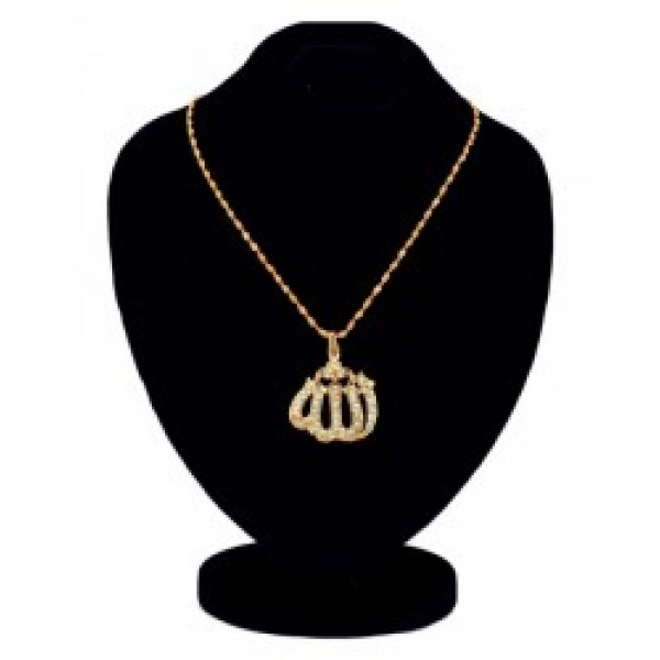 Gold Plated Allah Pendant