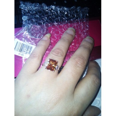 925 starling silver Noble Cubic Zirconia Ring