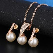Fashion Imitation Pearl Jewellery Set for Women
