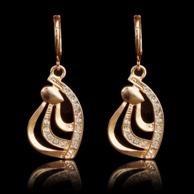 Gold Plated Earrings For Her