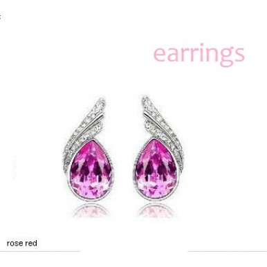 Drop Style Rhinestone Crystal Earring For HER