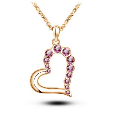 Gold Plated Heart Pendent Eid Special Gift