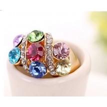 18k Plated Italian Design Ring For Her