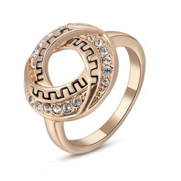 Ring For Women With Austrian Crystal Stellux For Her