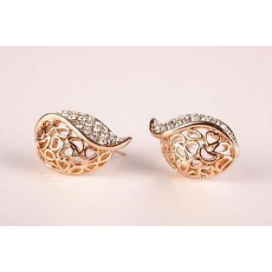 Fashion 18K Gold Plated Earring Jewellery For Her