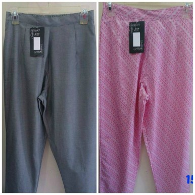 Pack Of 2 - Chino Trousers For Her