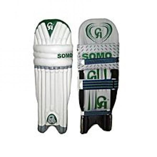 CS Somo Cricket Pads - White