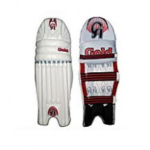 CA Gold Cricket Pads - White