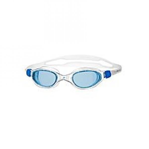 Speedo Futura Swimming Goggles - White & Blue