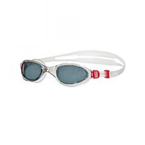 Speedo Futura Swimming Goggles - Red & White