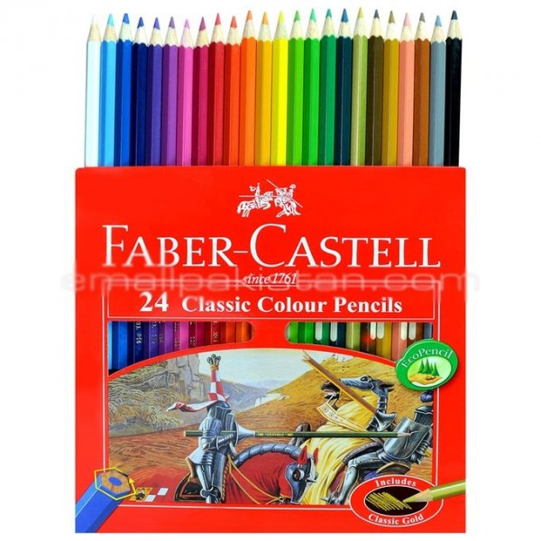 Faber Castell - 24 Classic Color Pencils