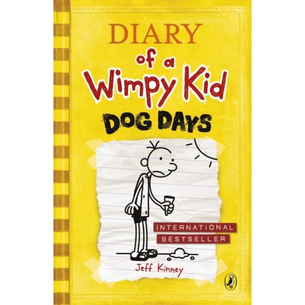 Dog Days Diary of a Wimpy Kid Book 4 - Original
