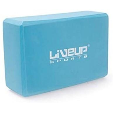LiveUp Sports Yoga Brick Blue
