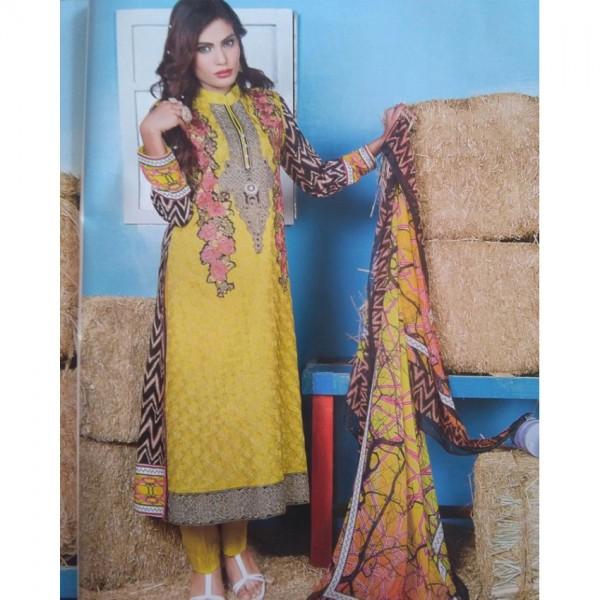 Women Viscose Fabric  Designer Dress Un Stitched 3 Piece