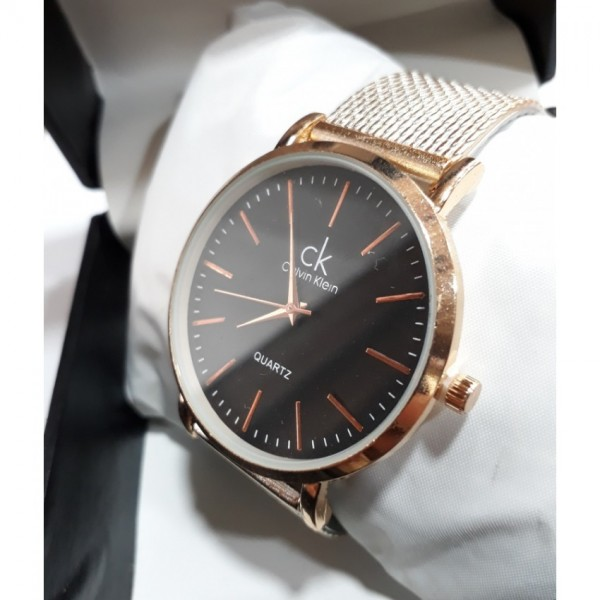 American Watch With Metal Strap