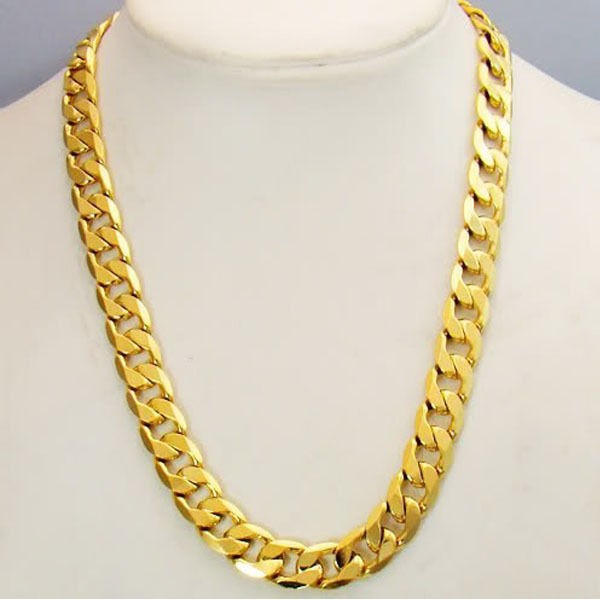 Gold Italian Solid Chain for Men