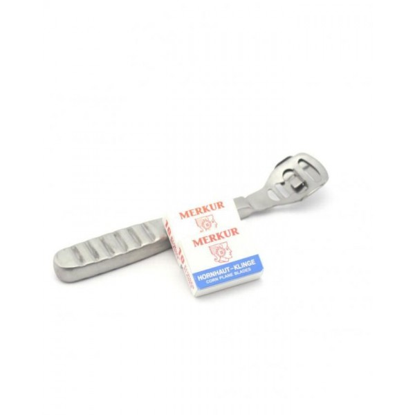 Steel Callus Corn Hard Skin Remover With Blades