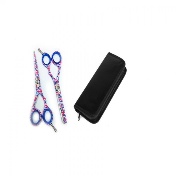 Set of 2 Hair Cutting Scissors