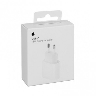 Apple - 18W USB-C Power Adapter - 2 Pin