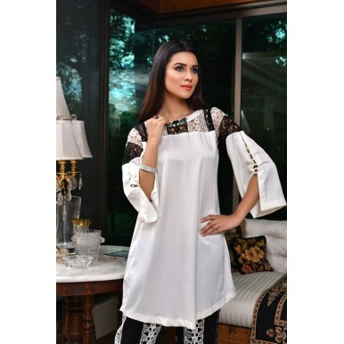 Snow White and Black Tunic and Trouser