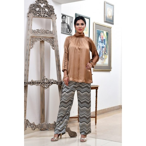 Heaven Scent Silk Top and Trouser for Ladies