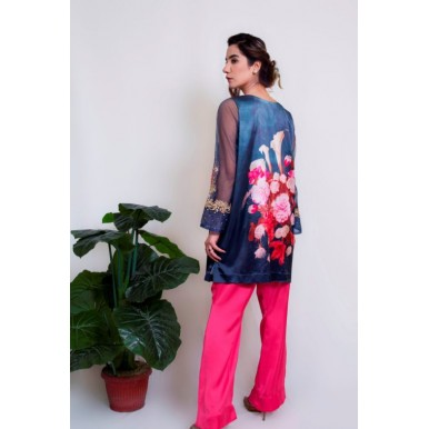 Glorious Visage Silk Top and Trouser for Ladies