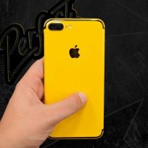 Iphone 7s plus Yellow skin Wrap