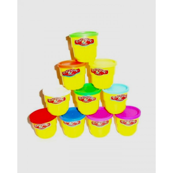 10 COLORS PLAY DOUGH Baby toys