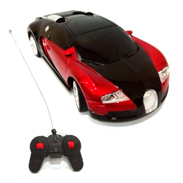 RC  BUGGATTI CAR  RED  4 CHANNEL