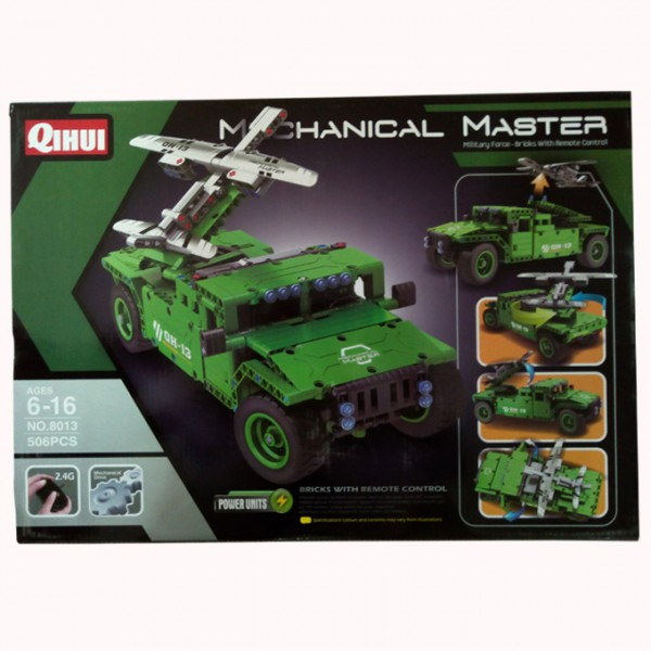 MECHANICAL HUMMER WITH REMOTE  GREEN
