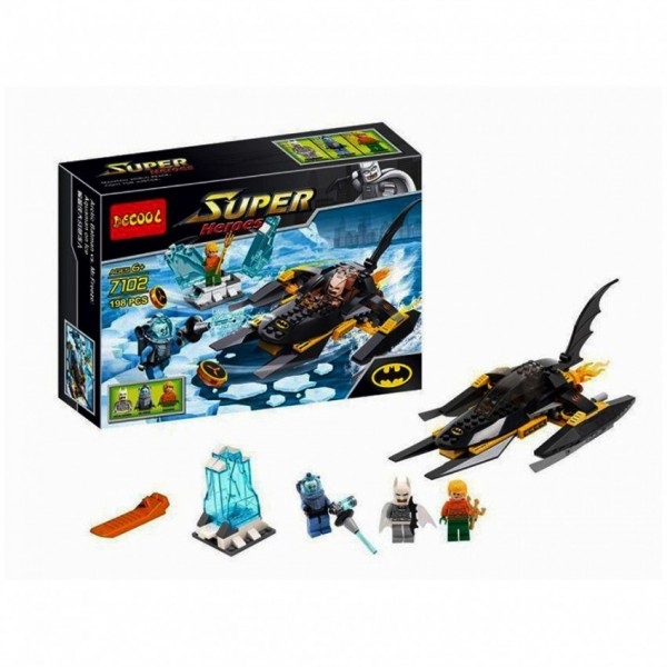 BATMAN LEGO  AQUAMAN VS MR.FREEZE