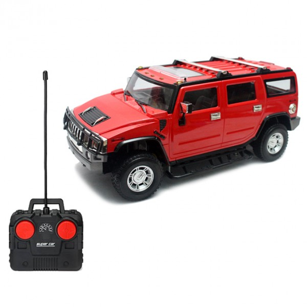 RC  Hummer 4 Channel  Red