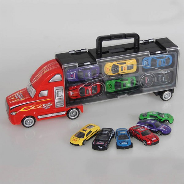 METAL DINKY TRUCK CONTAINER