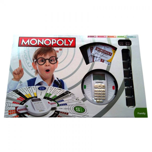 Monopoly Revolution with Credit Card Machine