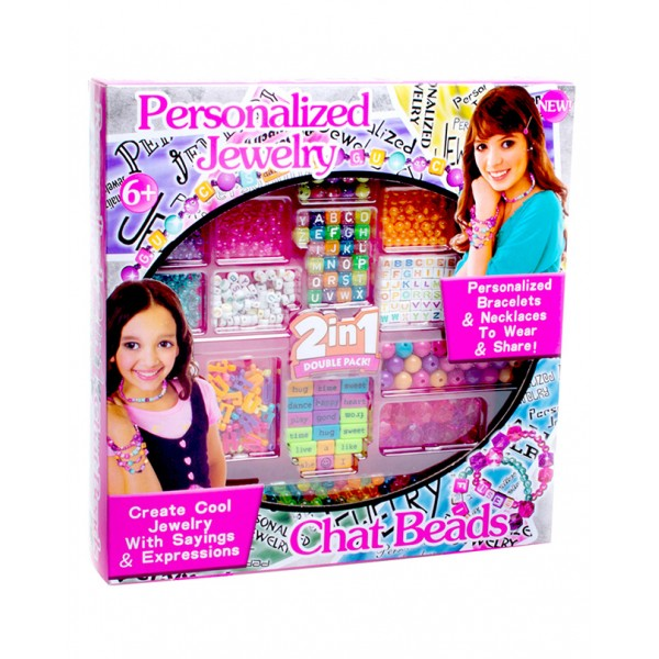 Personalized Jewelry Making Beads Set for Girls
