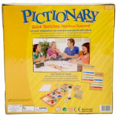 PICTIONARY FAMILY - 2 LEVEL CLUES